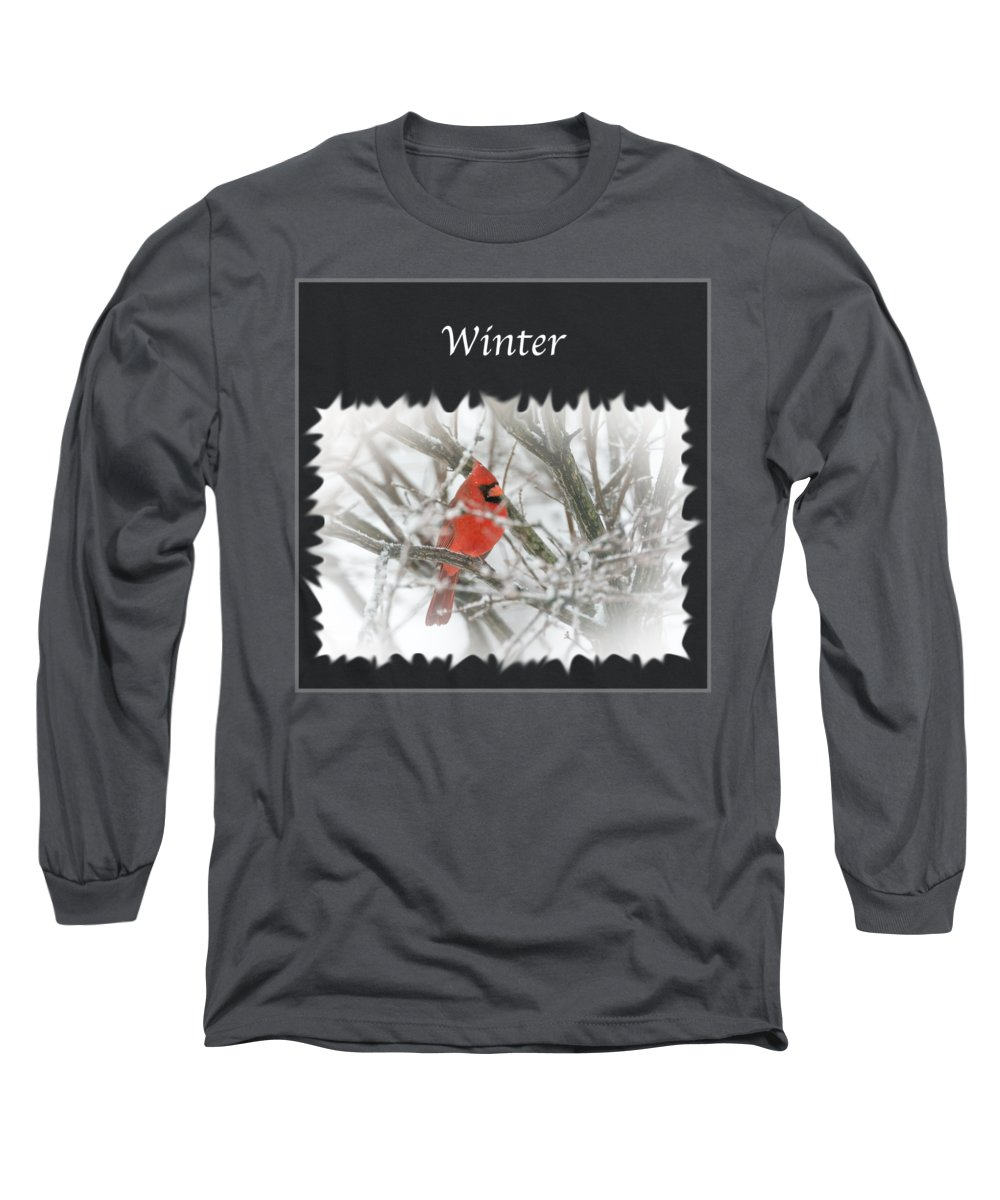 Winter Snow Long Sleeve T Shirt For Sale By Jan M Holden