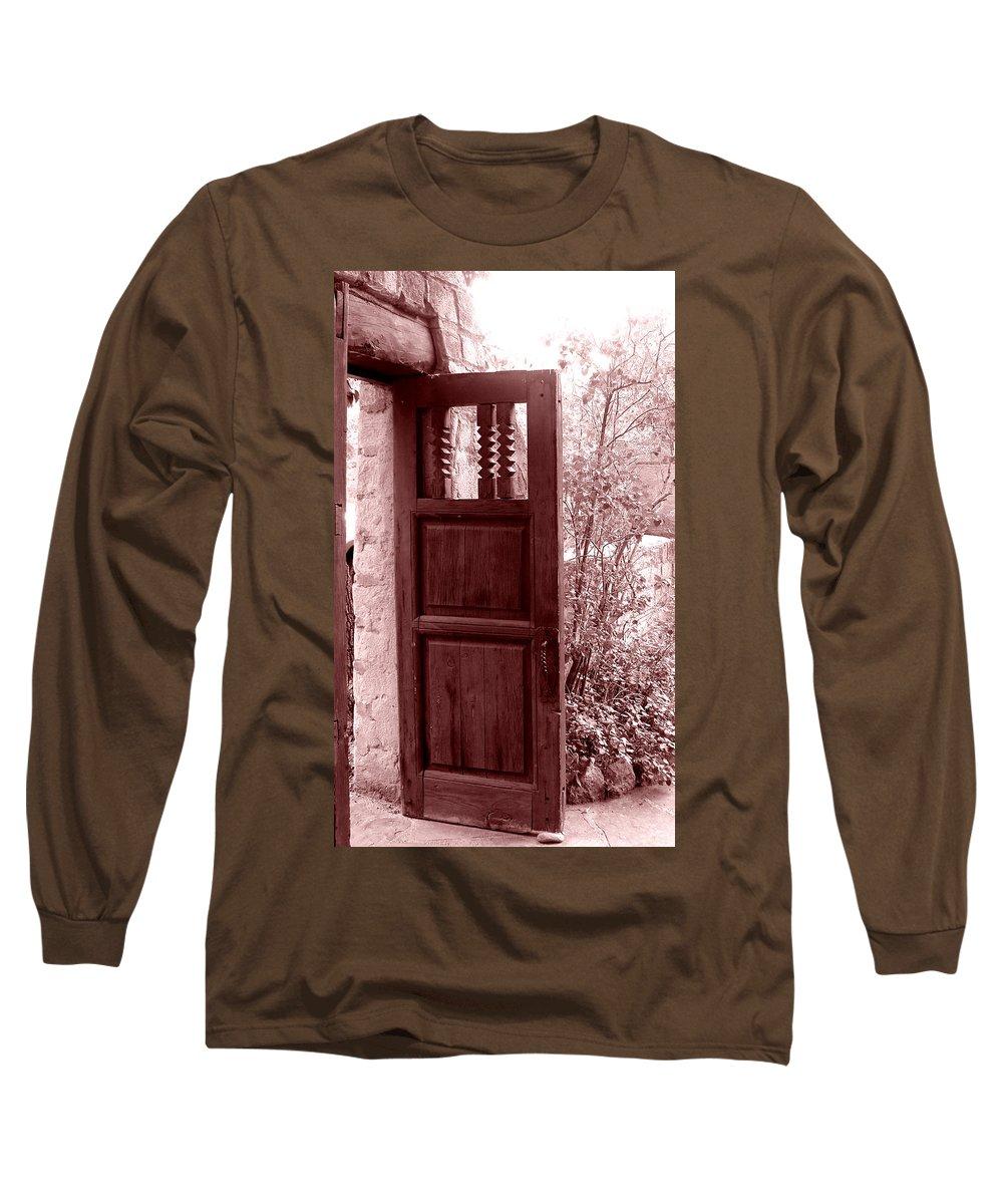 Door Long Sleeve T-Shirt featuring the photograph The Door by Wayne Potrafka