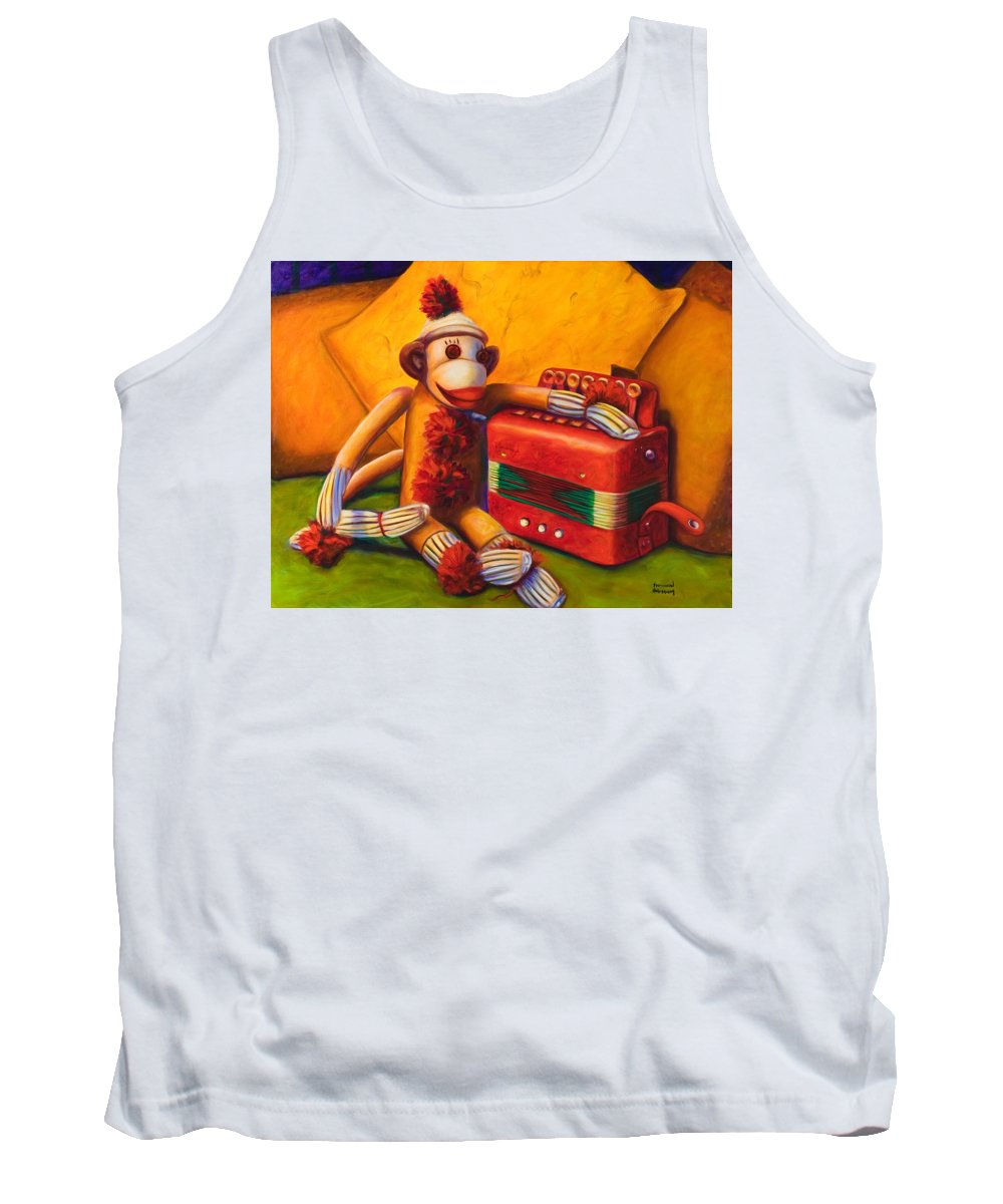 Children Tank Top featuring the painting Accordion by Shannon Grissom
