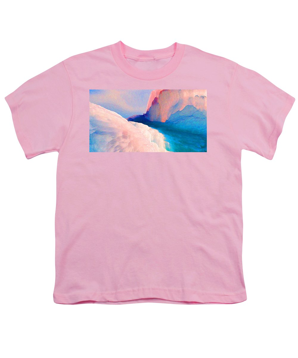 Abstract Youth T-Shirt featuring the photograph Ebb And Flow by Steve Karol