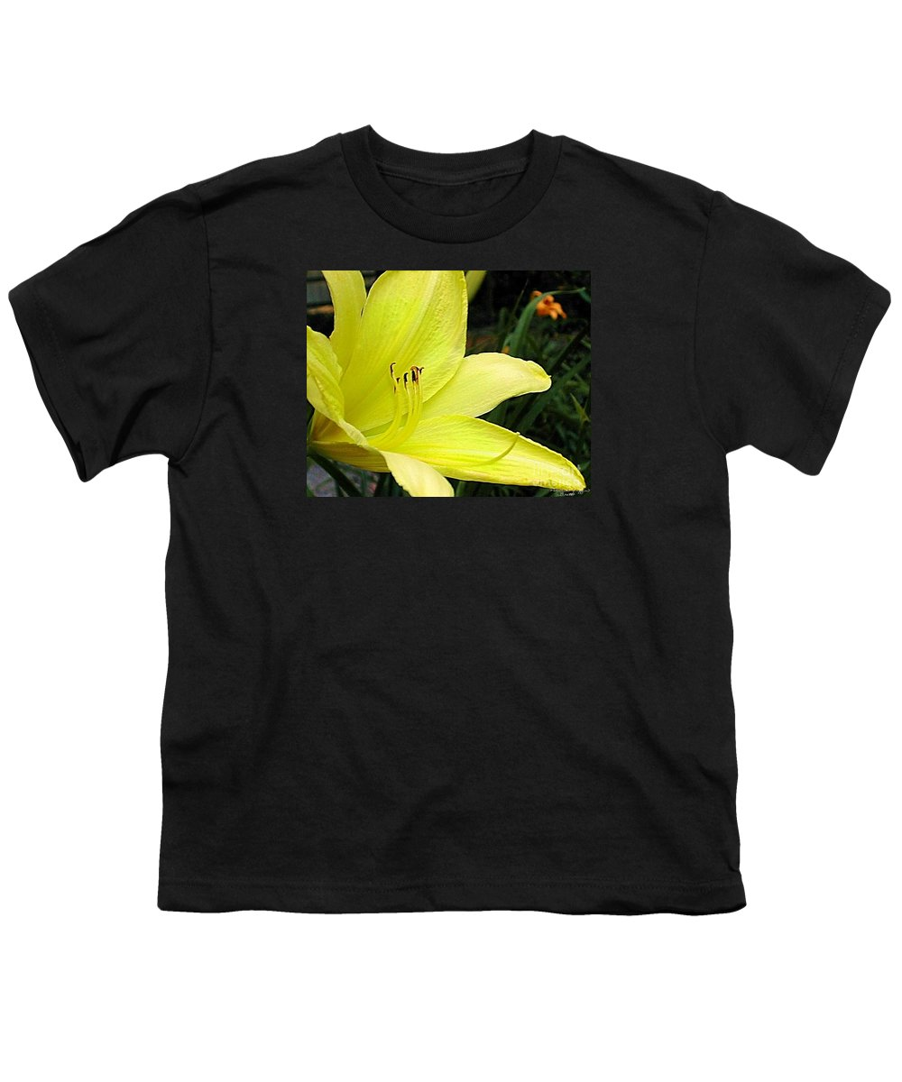 Fine Art Photography Youth T-Shirt featuring the photograph Pure Sunshine by Patricia Griffin Brett