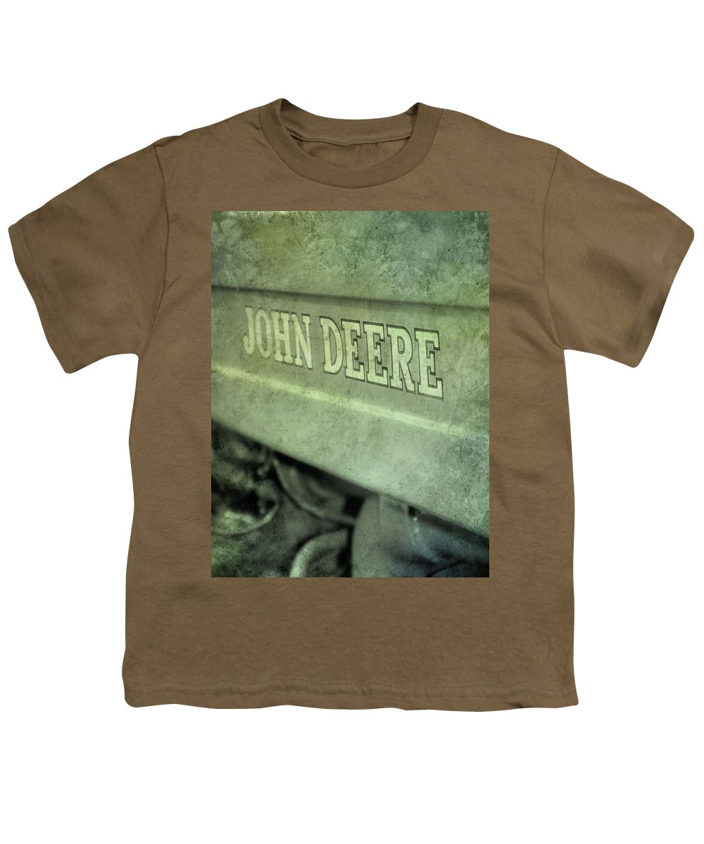 John Deere Grunge Youth T Shirt For Sale By Dan Sproul