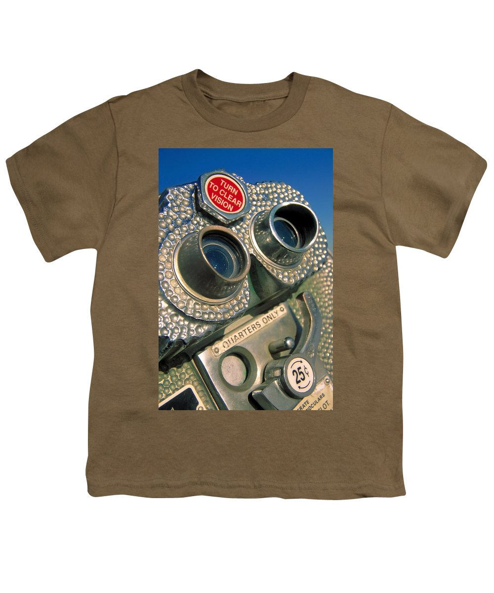 View Youth T-Shirt featuring the photograph Peep Show by Skip Hunt