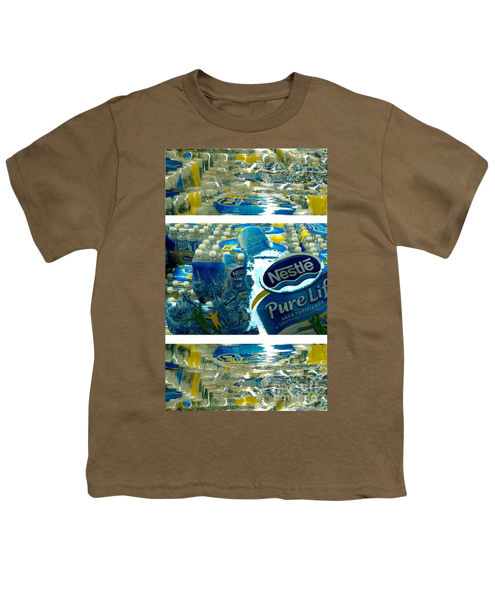 Water Youth T-Shirt featuring the photograph Pure Life by Ze DaLuz