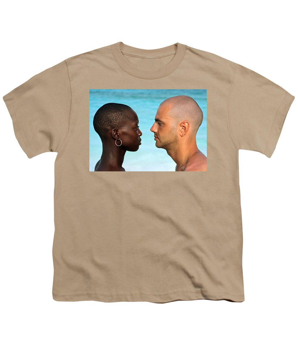 Man Youth T-Shirt featuring the photograph Yin Yang by Skip Hunt
