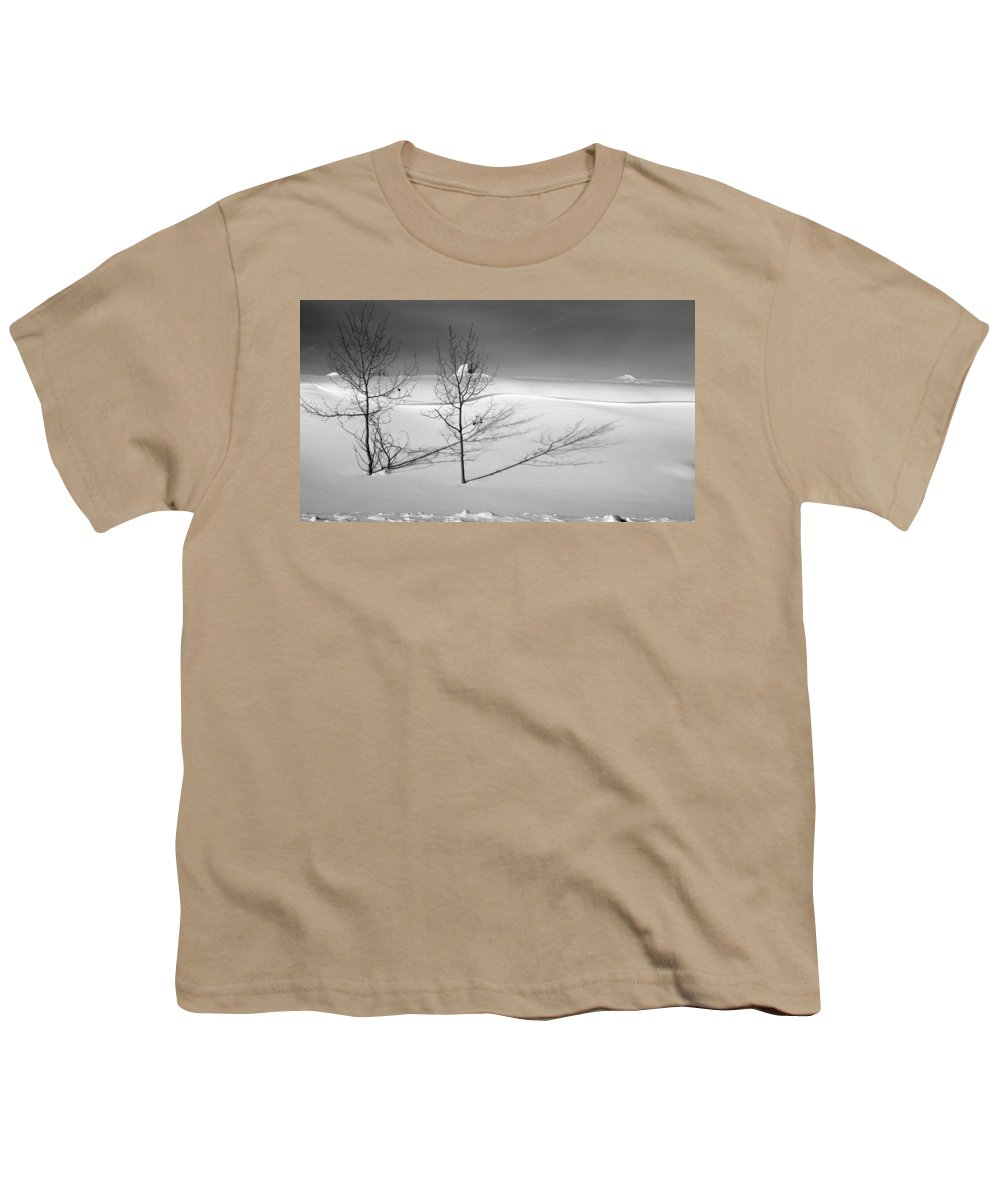 Nature Youth T-Shirt featuring the photograph Twins by Skip Hunt