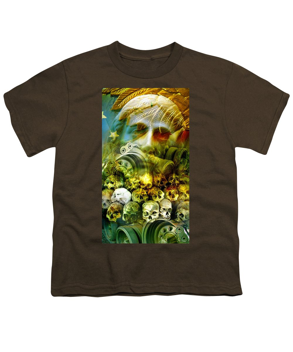 Jesus Youth T-Shirt featuring the photograph Jesus Wept by Skip Hunt