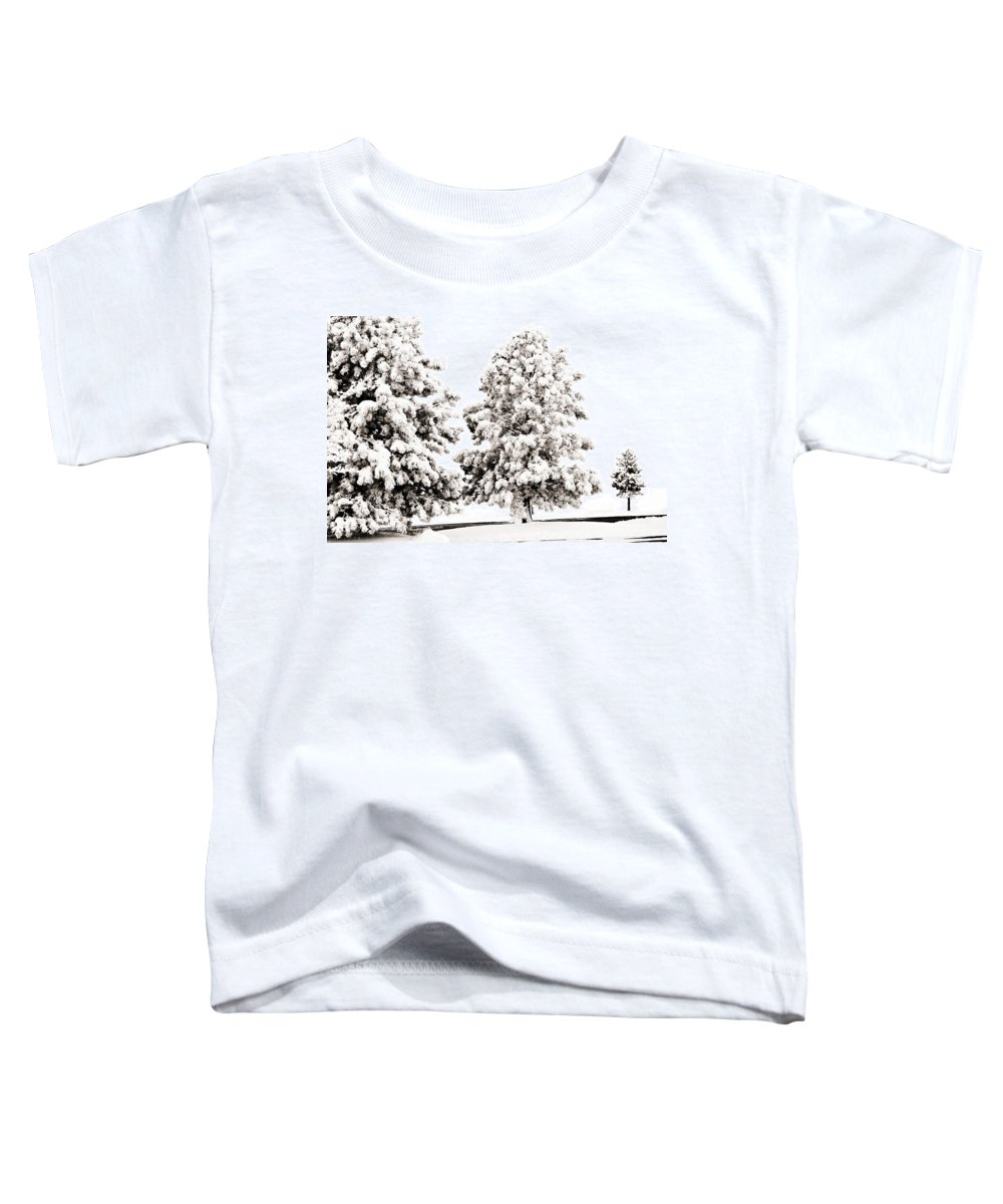 Trees Toddler T-Shirt featuring the photograph Family Of Trees by Marilyn Hunt