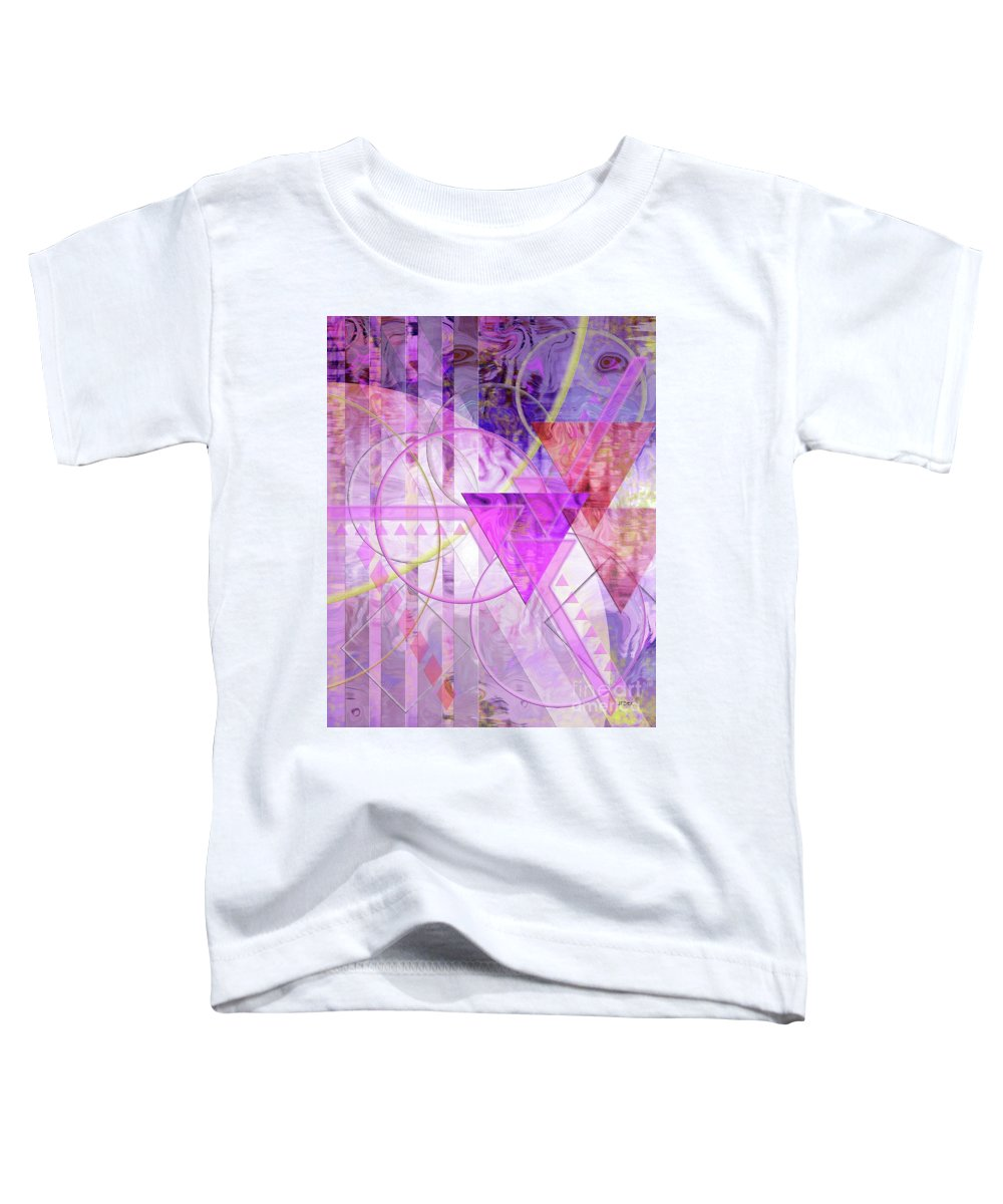 Shibumi Toddler T-Shirt featuring the digital art Shibumi Spirit by John Robert Beck
