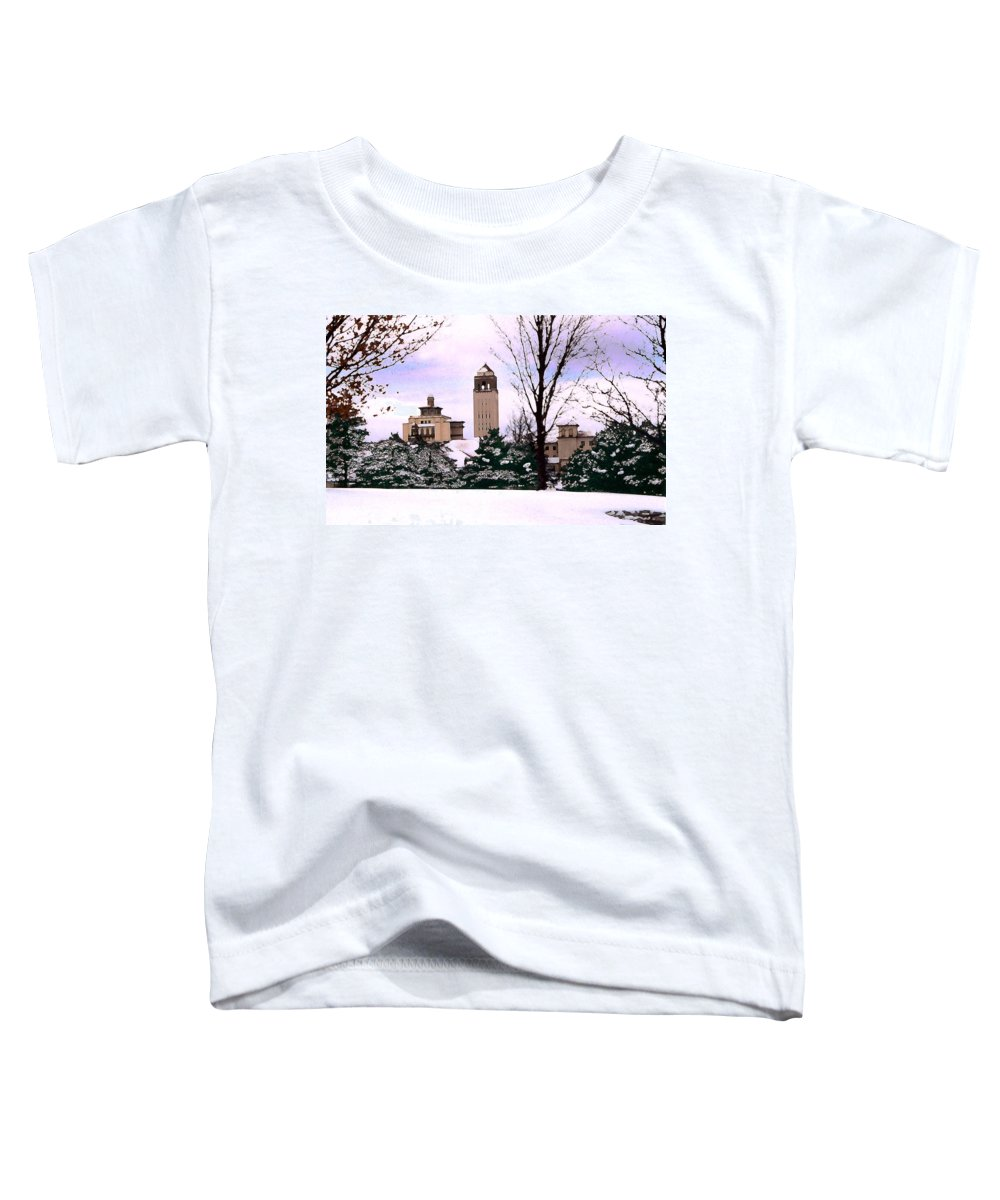 Landscape Toddler T-Shirt featuring the photograph Unity Village by Steve Karol