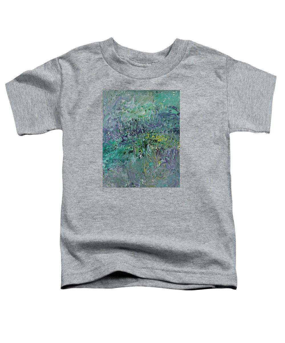 Fusionart Toddler T-Shirt featuring the painting Blind Giverny by Ralph White