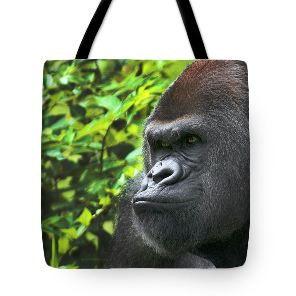 rah lowland gorilla 9774 tote bag for sale by gary