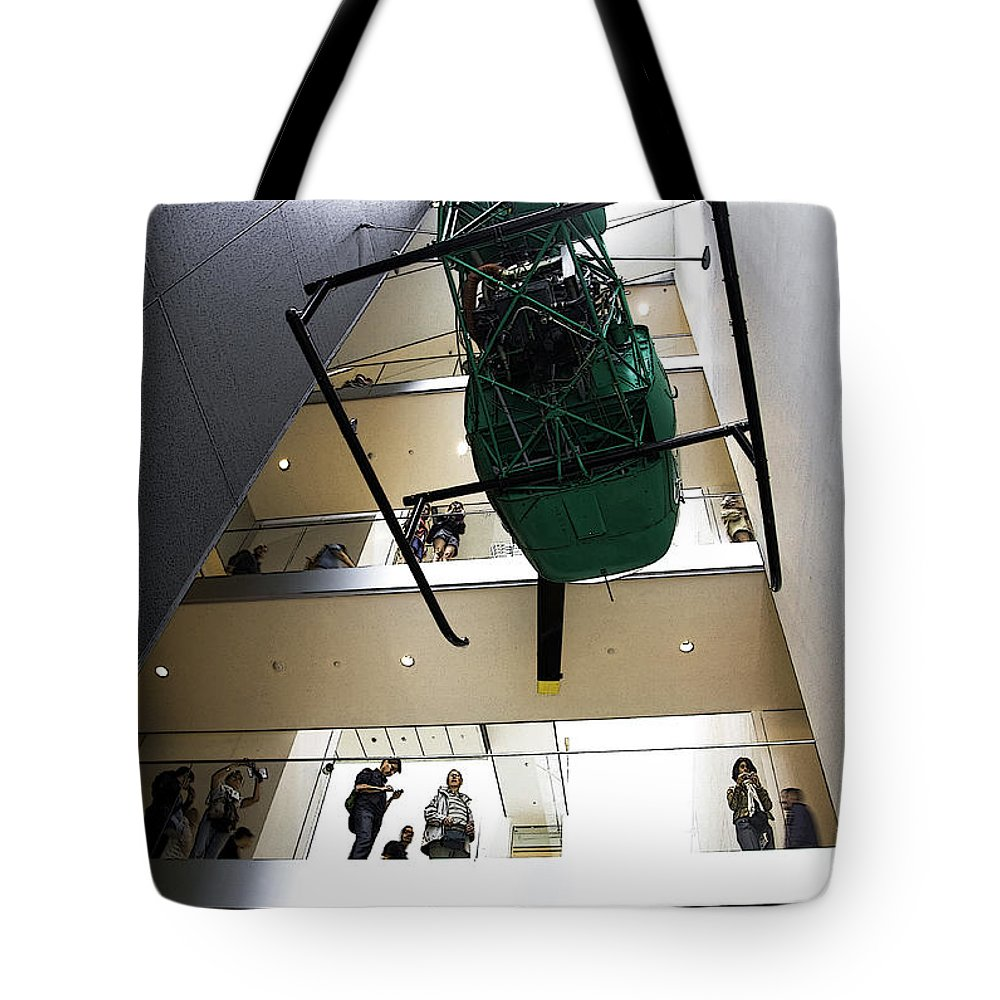 Moma Tote Bag featuring the photograph Modern Art Realm by Joanna Madloch