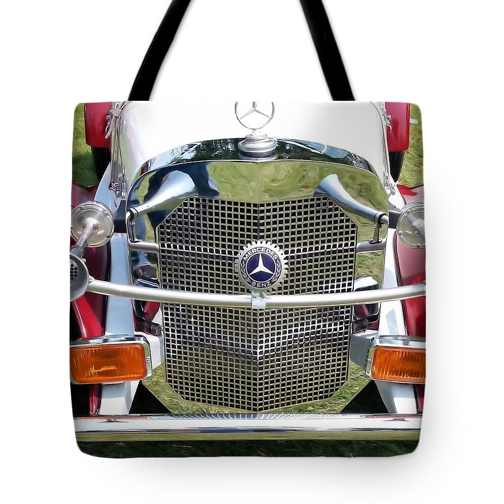 Classic mercedes benz tote bag for sale by shelly dixon for Mercedes benz handbags