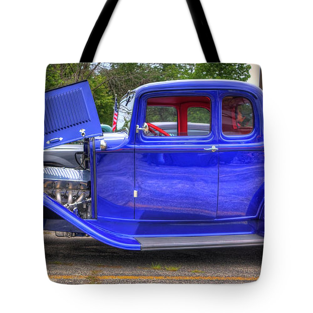 Ford 5 window coupe tote bag for sale by robert storost for 18 x 18 window