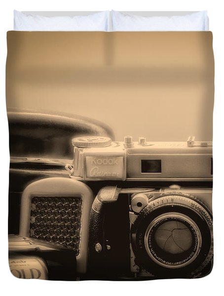 A Kodak Moment Duvet Cover by Donna Lee