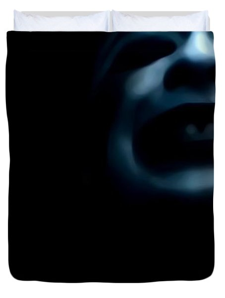 Agony I Wait Duvet Cover by Jessica Shelton