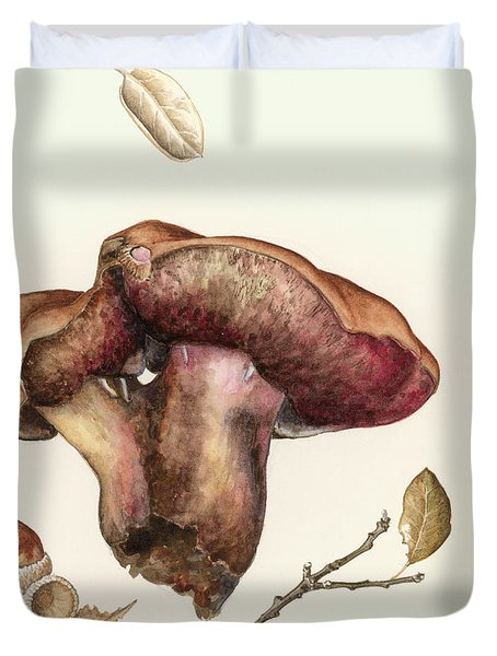 Fungus Duvet Cover by Alison Cooper