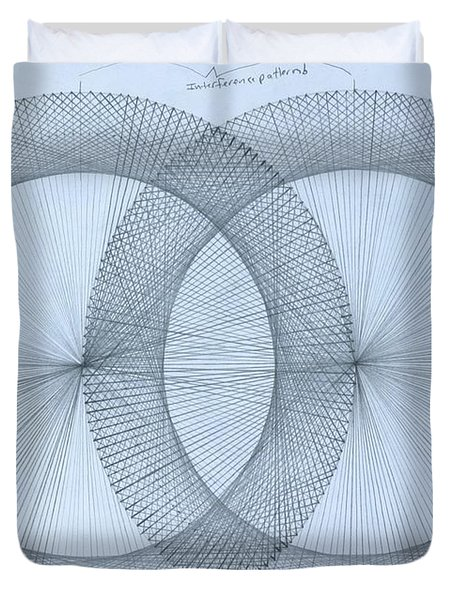 Magnetism Duvet Cover by Jason Padgett