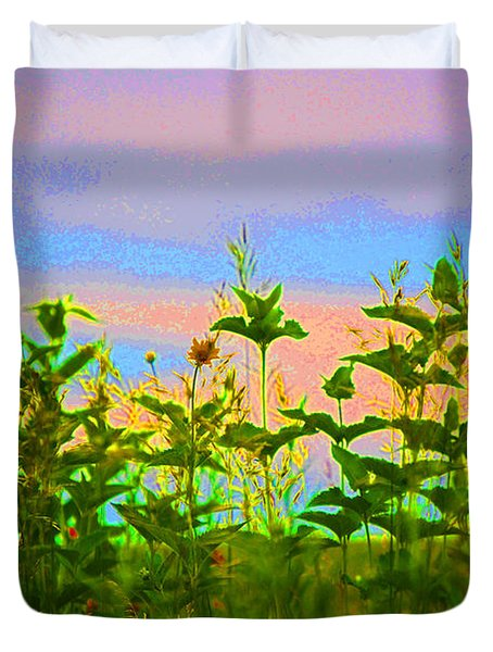 Meadow Magic Duvet Cover by First Star Art