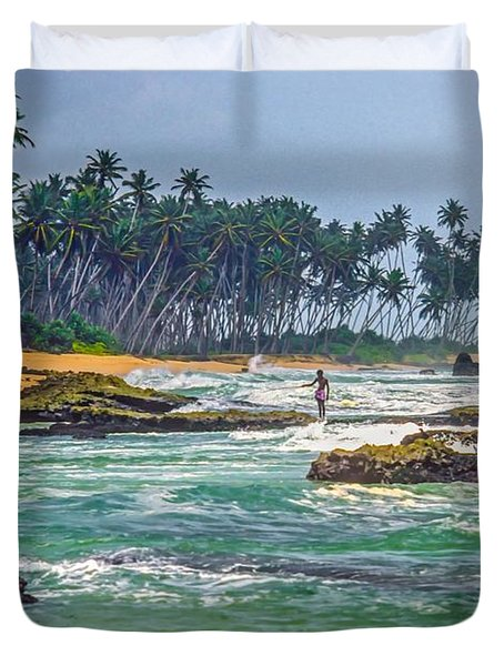 Sri Lanka Duvet Cover by Steve Harrington