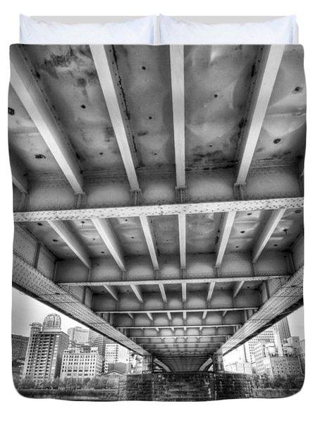 0308 Pittsburgh 5 Duvet Cover by Steve Sturgill
