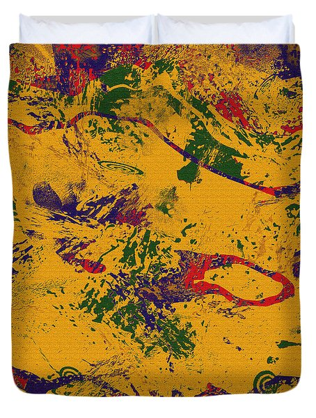 0859 Abstract Thought Duvet Cover by Chowdary V Arikatla