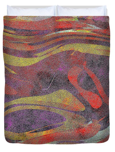 0906 Abstract Thought Duvet Cover by Chowdary V Arikatla