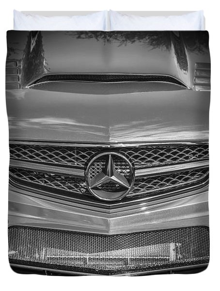 2013 Mercedes Sl Amg Duvet Cover by Rich Franco