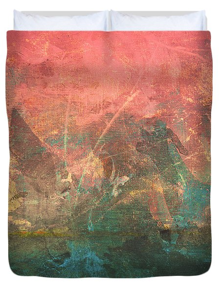 Abstract Print 2 Duvet Cover by Filippo B