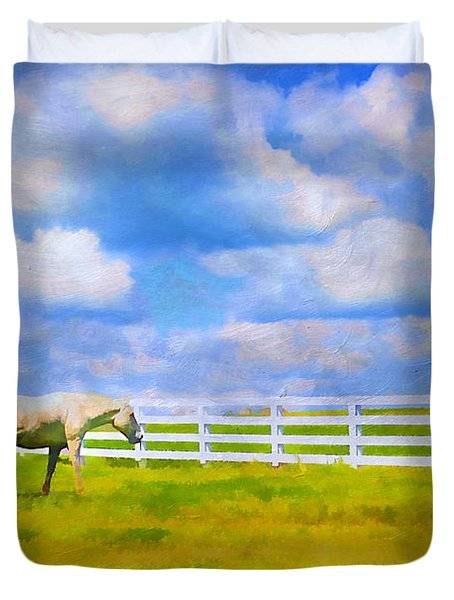 Alone Duvet Cover by Darren Fisher