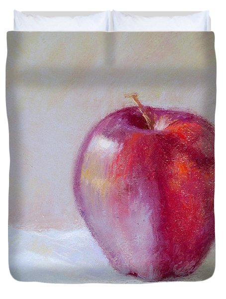 Apple Duvet Cover by Nancy Stutes