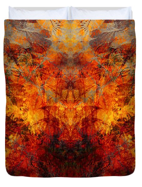 Autumn Glory Duvet Cover by Christopher Gaston