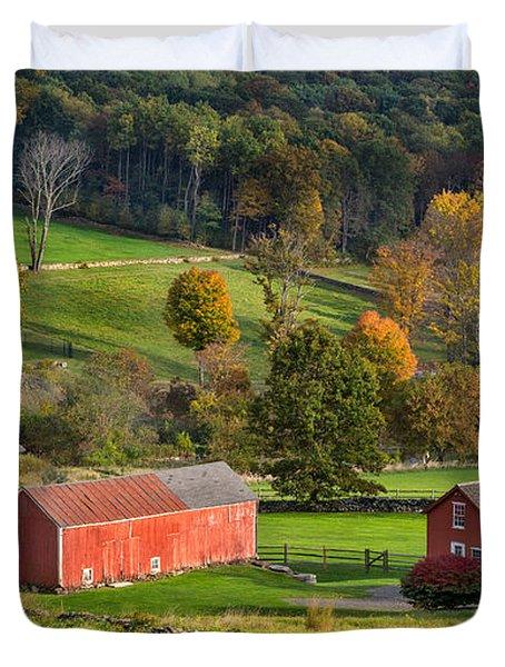 Autumn Light Duvet Cover by Bill  Wakeley