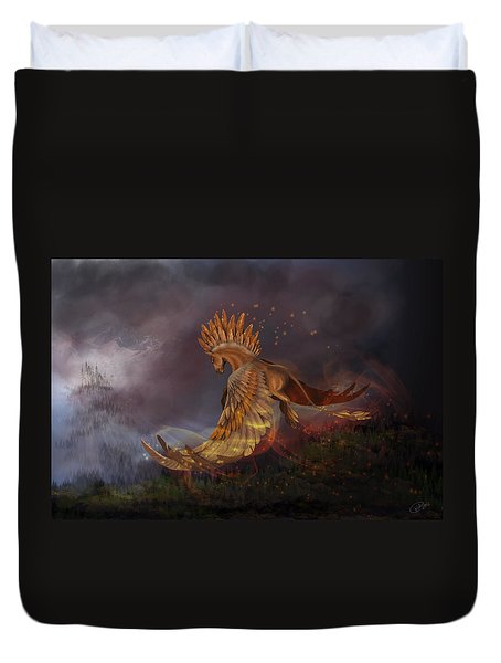 Back From The Nightmare Duvet Cover by Kate Black