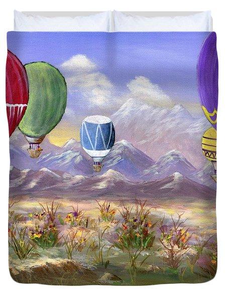 Balloons Duvet Cover by Jamie Frier