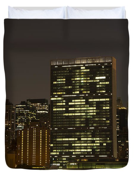 Beauty Of The Night Duvet Cover by Theodore Jones