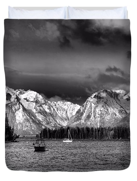 Boating Duvet Cover by Dan Sproul