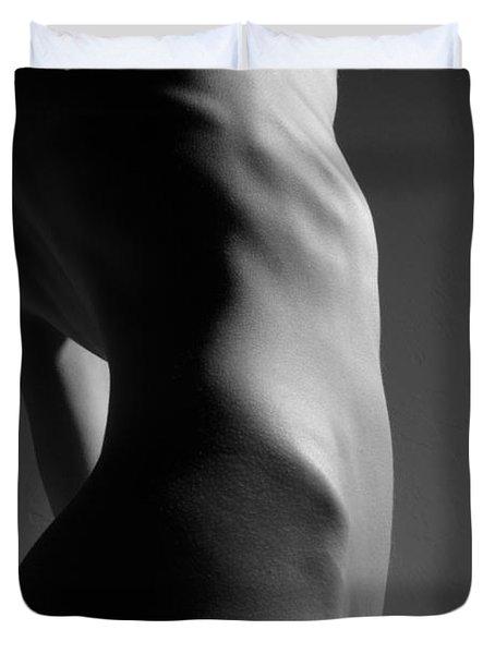 Bodyscape Duvet Cover by Joe Kozlowski