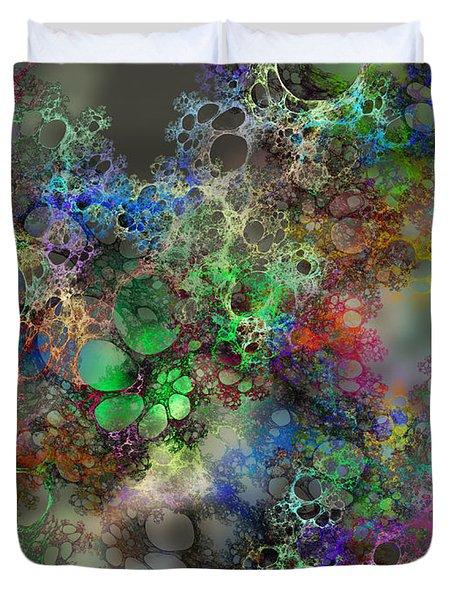 Bubbles Duvet Cover by Klara Acel