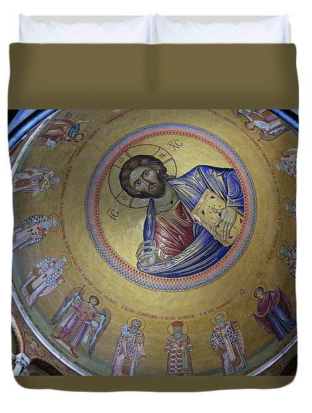 Catholicon Duvet Cover by Stephen Stookey