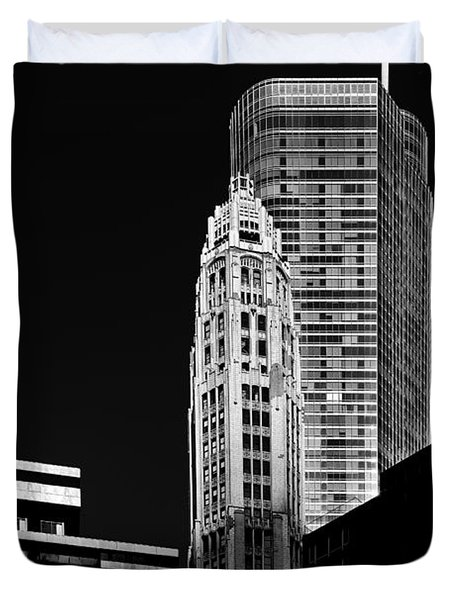 Chicago - Trump International Hotel and Tower Duvet Cover by Christine Till