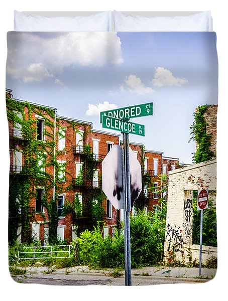 Cincinnati Glencoe-auburn Place Picture Duvet Cover by Paul Velgos