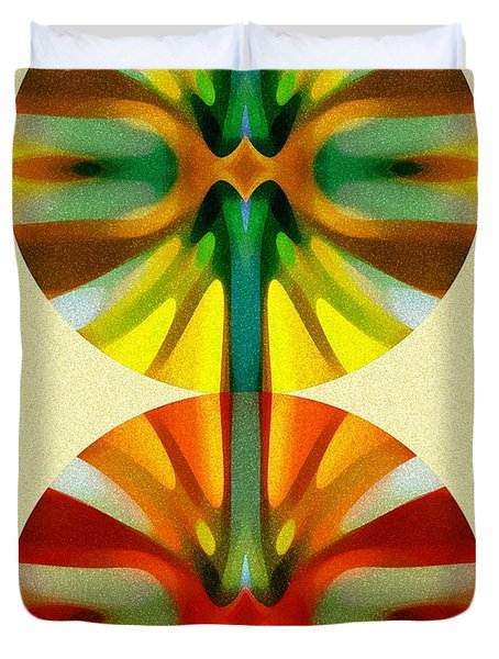 Circle Pattern 2 Duvet Cover by Amy Vangsgard
