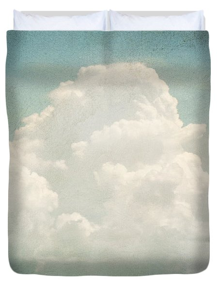 Cloud Series 3 Of 6 Duvet Cover by Brett Pfister