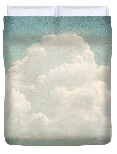 Cloud Series 3 of 6 Duvet Cover by Brett Pfister