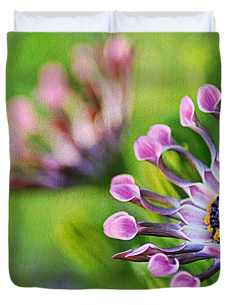 Colors Of Spring Duvet Cover by Darren Fisher