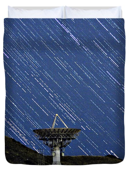 Communications To The Stars Duvet Cover by James BO  Insogna