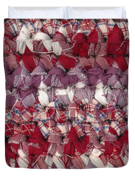Crochet Rag Rug Duvet Cover by Kerstin Ivarsson