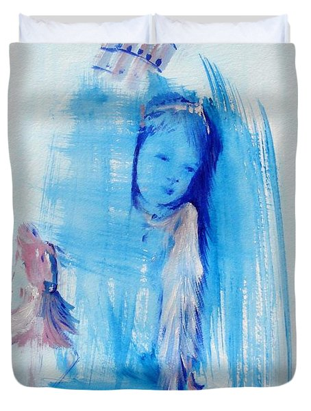 Dreaming Of Pisa Duvet Cover by Laurie D Lundquist